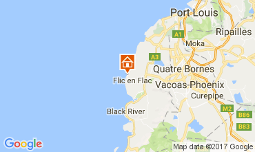Map Flic-en-Flac House 111668