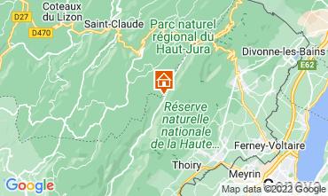 Map Les Rousses Apartment 3730