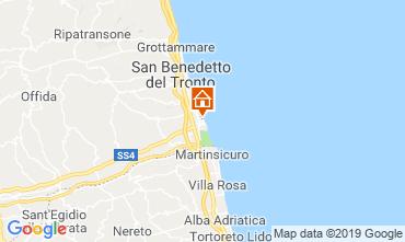 Map San Benedetto del Tronto Apartment 119084