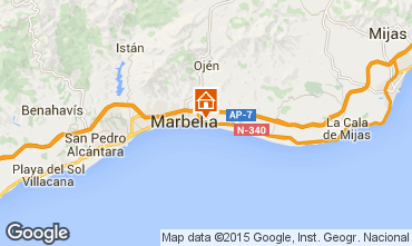 Map Marbella Villa 64364