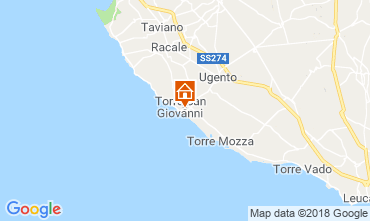 Map Ugento - Torre San Giovanni Apartment 75378