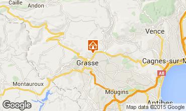 Map Grasse Vacation rental 44035