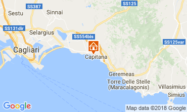 Map Quartu Sant'Elena House 113047