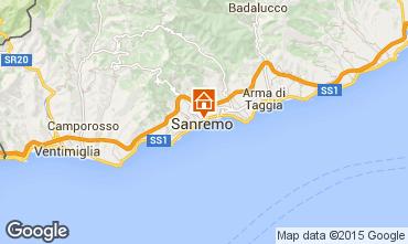 Map Sanremo Apartment 70549
