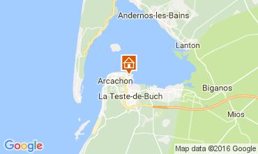 Map Arcachon Apartment 106583