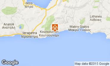 Map Ierapetra Apartment 34219
