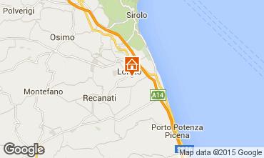 Map Loreto Apartment 87954