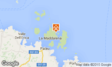 Map La Maddalena One-room apartment 60826