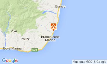 Map Bruzzano Zeffirio Apartment 69409