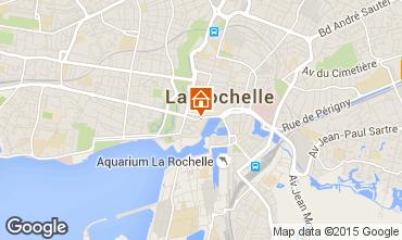 Map La Rochelle Apartment 84130