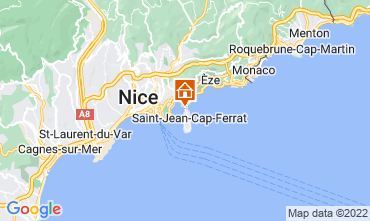 Map Nice Villa 113634