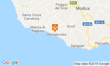 Map Donnalucata Apartment 113933
