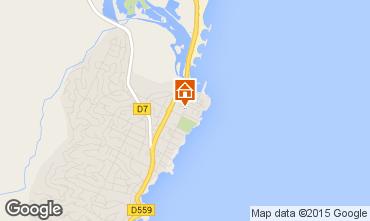 Map Saint Aygulf Apartment 55458