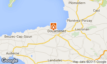 Map Douarnenez One-room apartment 93136