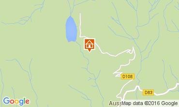 Map Aussois Chalet 26892