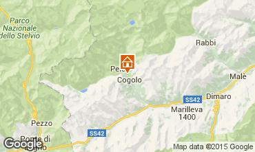 Map Peio (Pejo) Apartment 74837