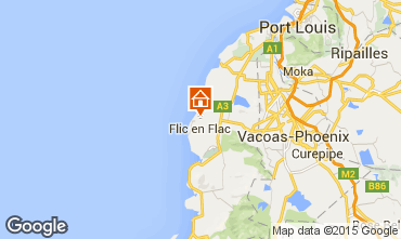 Map Flic-en-Flac Apartment 92580