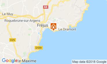 Map Saint Raphael Villa 5620