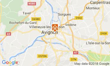 Map Avignon Apartment 115919