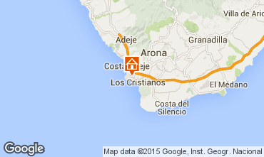 Map Los Cristianos One-room apartment 77464