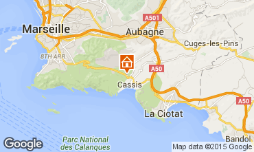 Map Cassis Apartment 89946