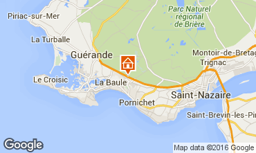 Map La Baule Mobile home 97231