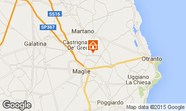 Map Otranto One-room apartment 70908