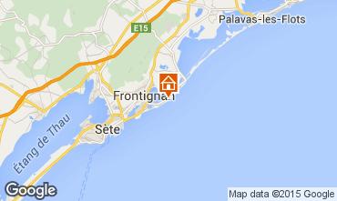 Map Frontignan House 10118