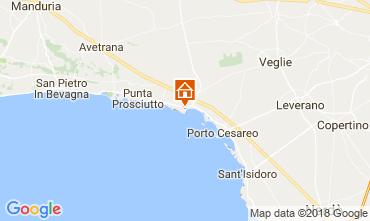 Map Torre Lapillo Apartment 113146