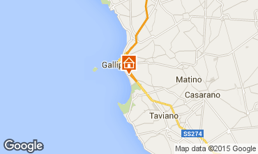 Map Gallipoli Apartment 61916