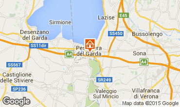 Map Peschiera del Garda Apartment 99965
