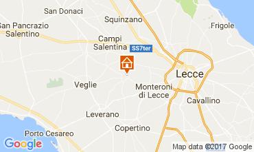 Map Lecce Apartment 111100