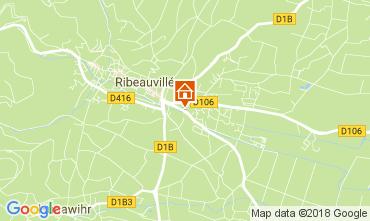 Map Ribeauvillé Vacation rental 113164