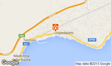 Map Ospedaletti Apartment 72922