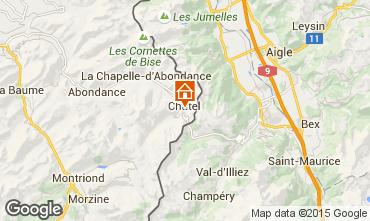 Map Ch�tel Apartment 804