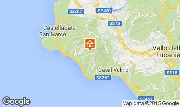 Map Acciaroli Apartment 22930
