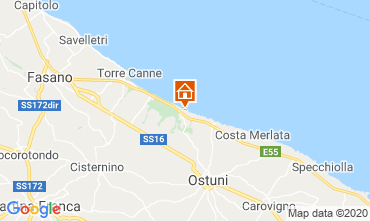 Map Ostuni Apartment 102048