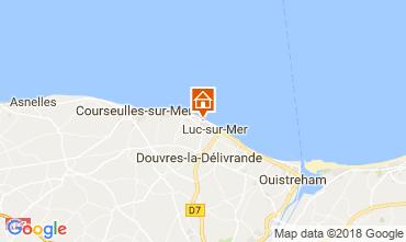Map Langrune sur mer House 113675