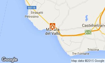 Map Mazara del Vallo Apartment 52802