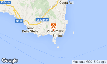 Map Villasimius Apartment 60425