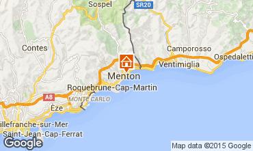 Map Menton Apartment 91987