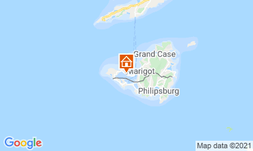 Map Marigot Apartment 114553