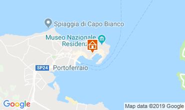 Map Portoferraio Apartment 85416