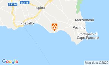 Map Pozzallo Villa 117240