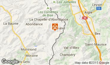 Map Ch�tel Chalet 74094