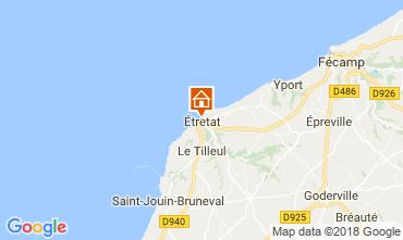 Map Etretat House 113628