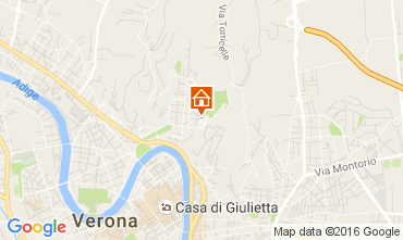 Map Verona Apartment 89824