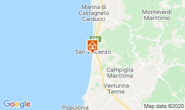 Map San Vincenzo Apartment 113255