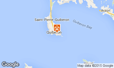 Map Quiberon Apartment 74806