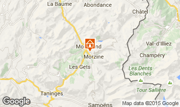 Map Morzine Apartment 1947